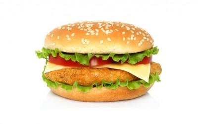 Бургер с курицей