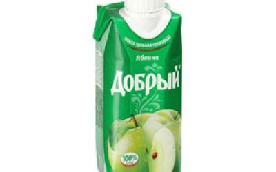 Сок Добрый в ассортименте 0,33