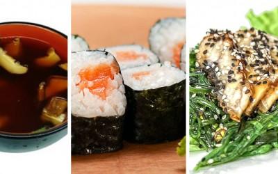 Японская кухня. Бенто ланч №1