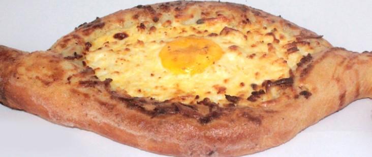 Осетинский пирог с яйцом