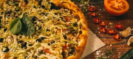 Барбекю пицца