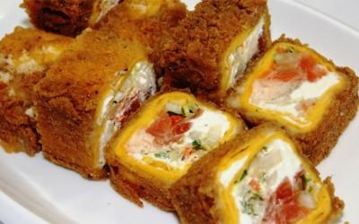 Тортилья хот с лососем